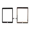 VITRE-IPAD2018NOIR - Vitre tactile iPad 9,7 pouces version 2018 modèle A1893 et A1954