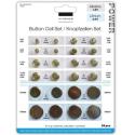 VIVANCO-SET24 - Lot de 24 Piles boutons pur montre / télécommande / calculette