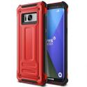 VRS-TERRAS8ROUGE-S8 - Coque Galaxy-S8 VRS-Design série Terra Guard coloris rouge Crimson