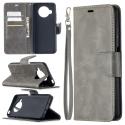 WALLET-MI10TLITEGRIS - Etui Xiaomi MI-10T Lite (5G) gris avec rabat latéral et logements cartes