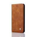 WALLMAGN-Y52018CAMEL - Housse Etui Huawei Y5-2018 rabat latéral camel aimant invisible