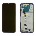 XIAOMI-FACENOTE8BLEU - Ecran complet origine Xiaomi Redmi Note 8 Vitre tactile + LCD avec châssis coloris bleu