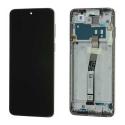 XIAOMI-LCDNOTE9SBLANC - Ecran complet origine Xiaomi Redmi Note 9S coloris blanc sur châssis