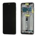 XIAOMI-LCDNOTE9SNOIR - Ecran complet origine Xiaomi Redmi Note 9S coloris noir sur châssis