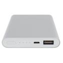 XIAOMI-PLM02ZM - Xiaomi PowerBank 10.000 mAh aluminium gris