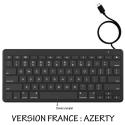 ZAGG-KEYBOARDTYPEC - Zagg Clavier AZERTY filaire prise USB Type-C